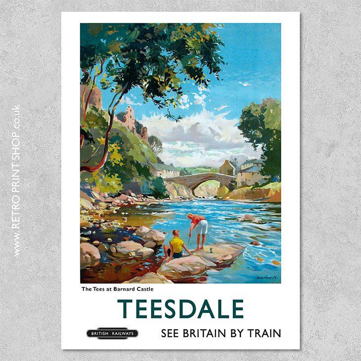 Teesdale Poster Barnard Castle
