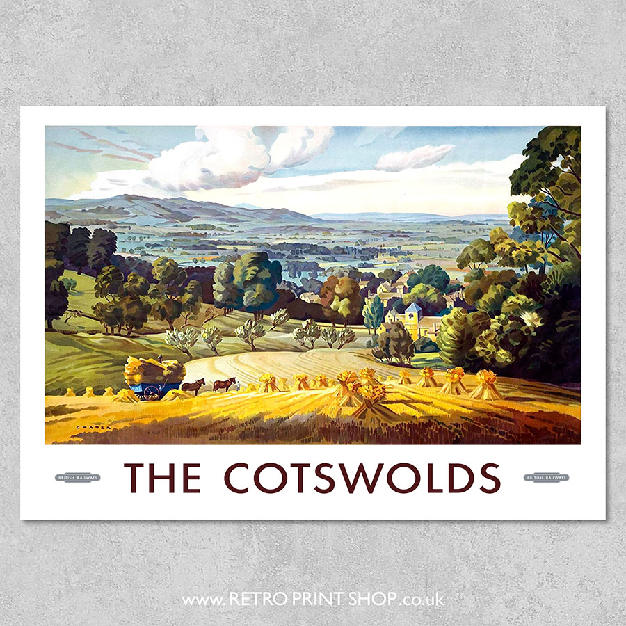 British Railways The Cotswolds Poster