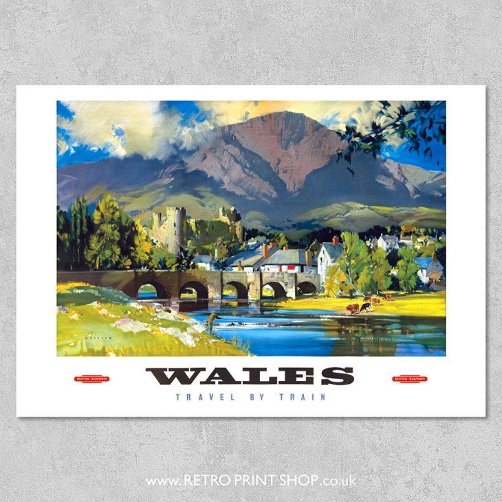 British Railways Wales Poster