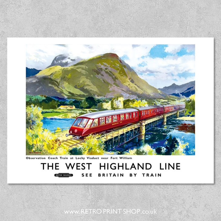 West Highland Line poster