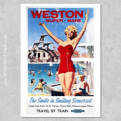 Weston-Super-Mare Poster 2