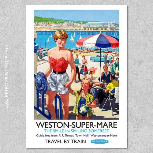 Weston-Super-Mare Poster 3