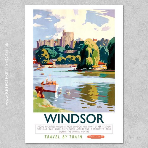 British Rail Windsor Poster