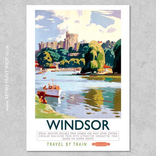 British Rail Windsor Poster