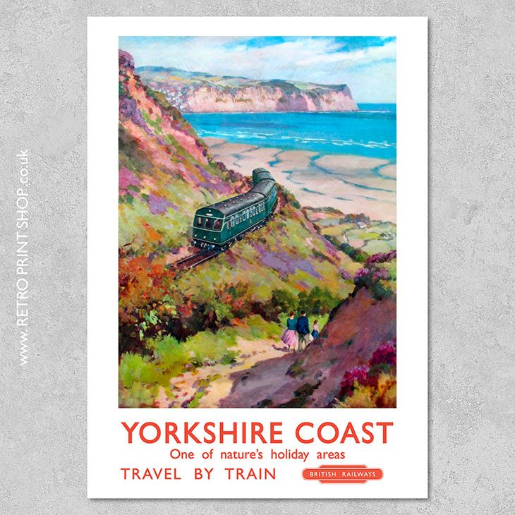 Yorkshire Coast Poster 2