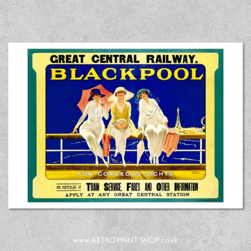 Blackpool Poster