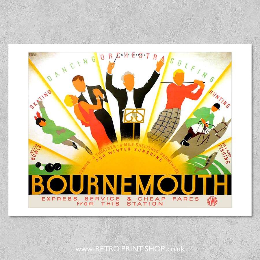 GWR Bournemouth Poster 2