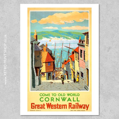 GWR Cornwall Poster