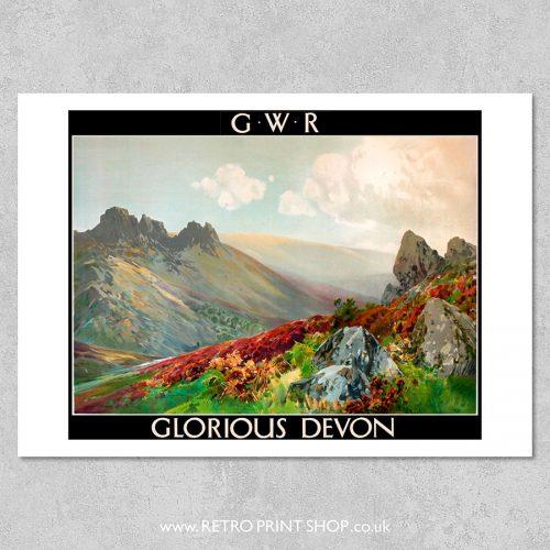Devon Poster