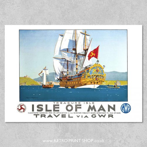GWR Isle of Man poster