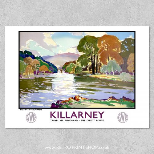 GWR Killarney poster