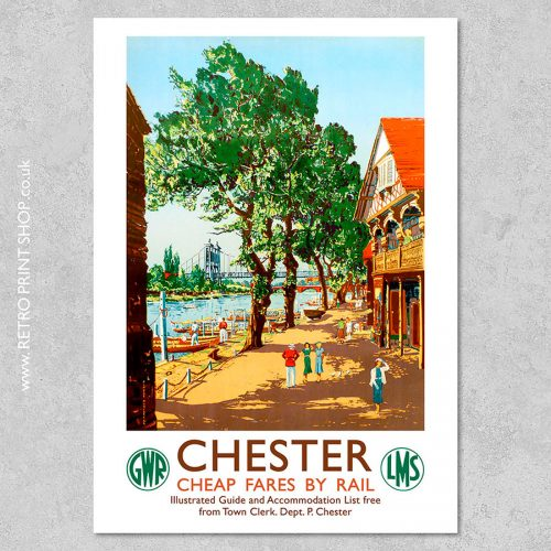 GWR Chester Poster