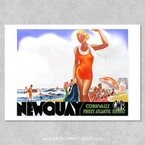 GWR Newquay Poster 2