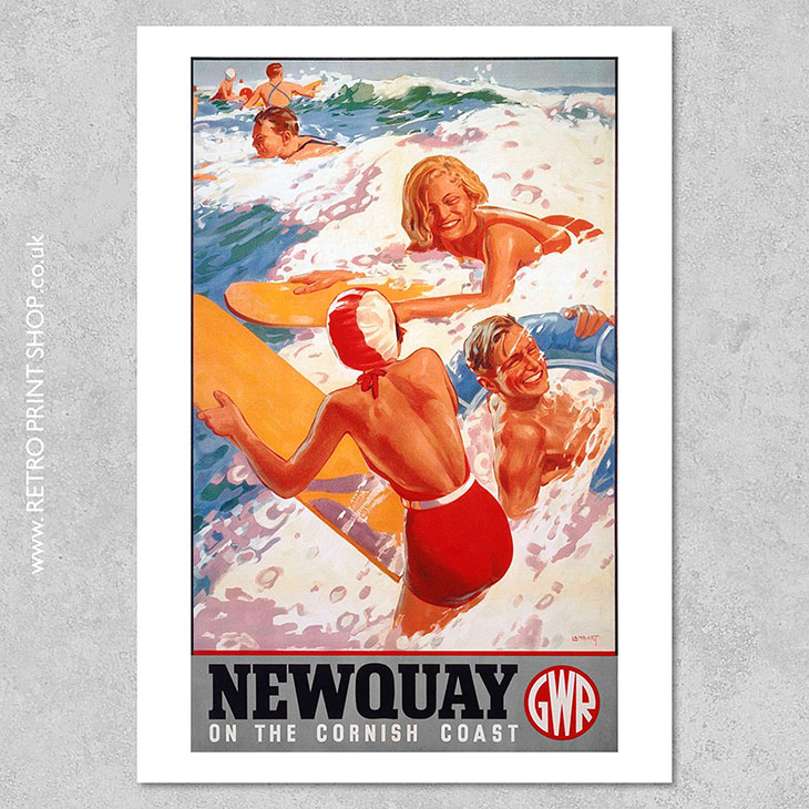 Newquay Poster
