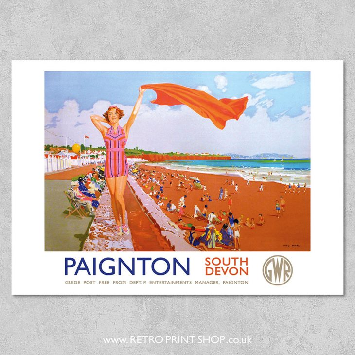 Paignton Poster