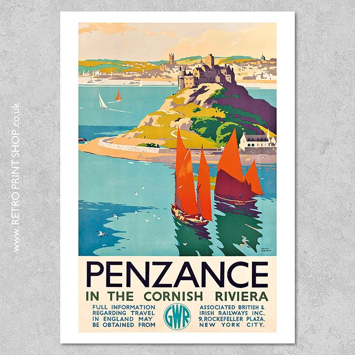 GWR Penzance Poster