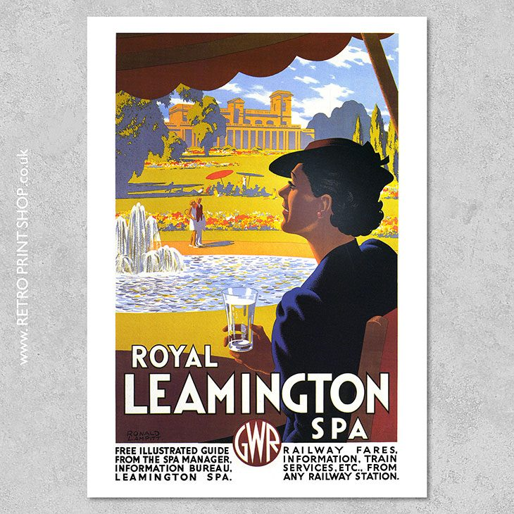 Royal Leamington Spa Poster