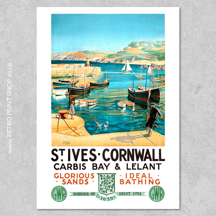 St Ives Poster
