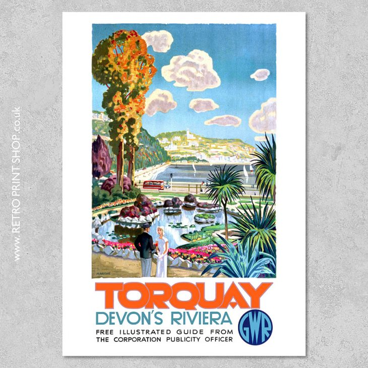 GWR Torquay Poster 2