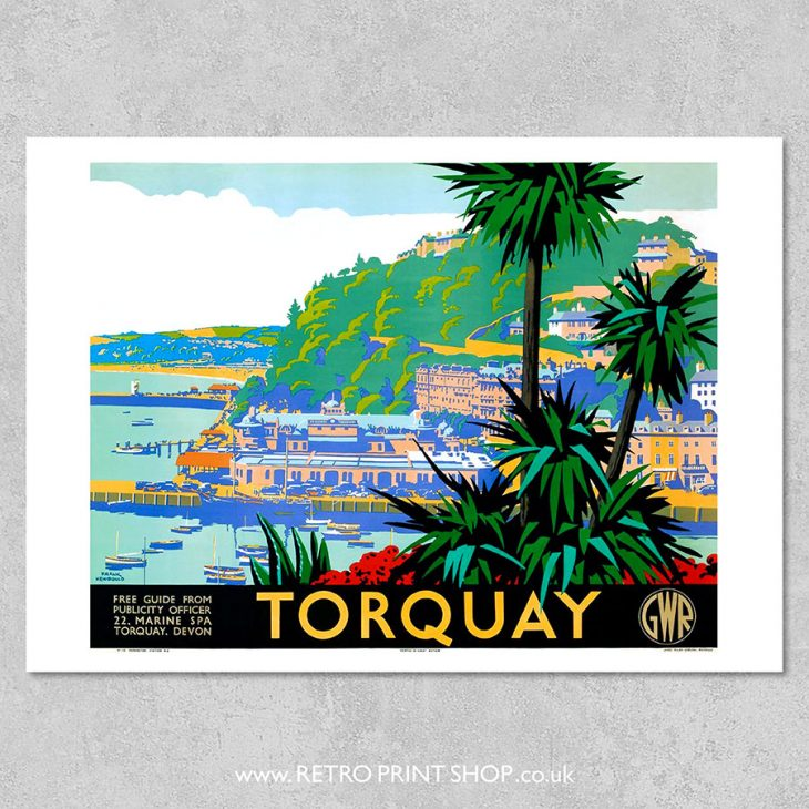 GWR Torquay Poster 3