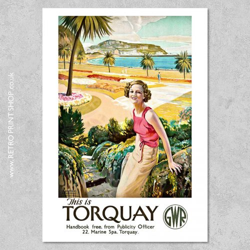 GWR Torquay Poster 4