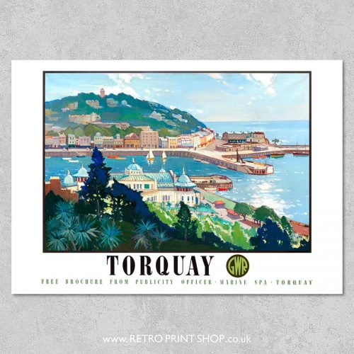 Torquay Poster