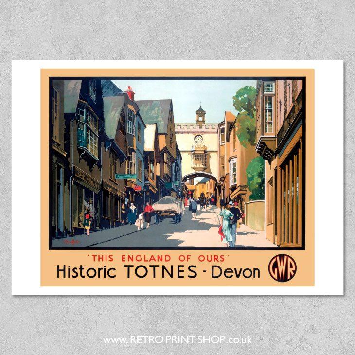 Totnes Poster