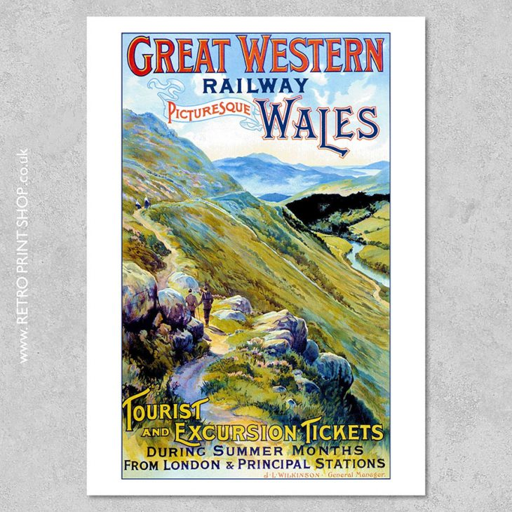 GWR Wales Poster