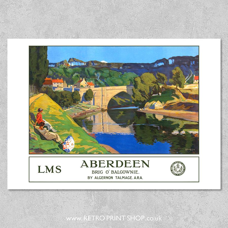 LMS Aberdeen Poster