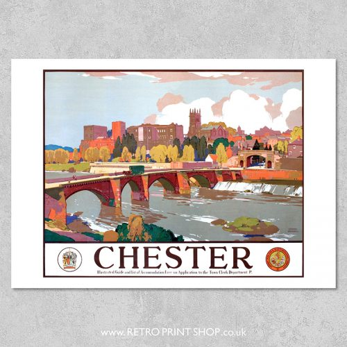 Chester Railway Poster