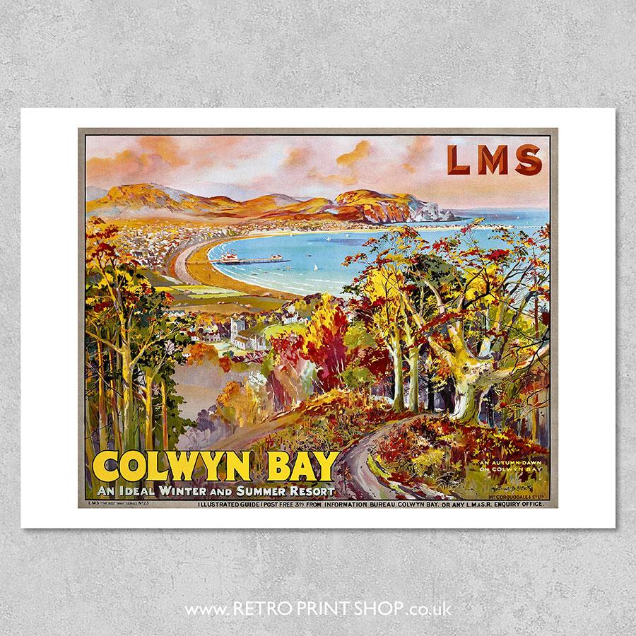 Colwyn Bay Poster #2