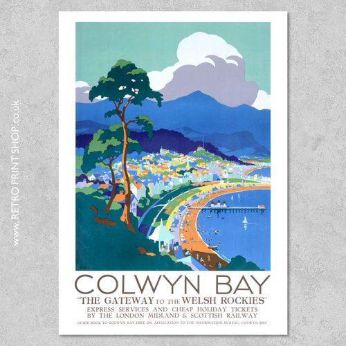 Colwyn Bay Poster
