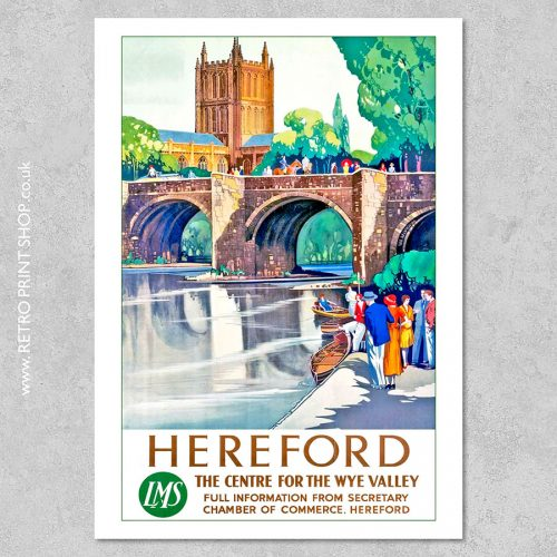 LMS Hereford Poster