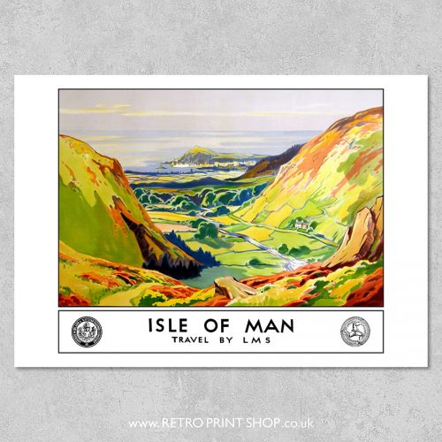 LMS Isle of Man poster