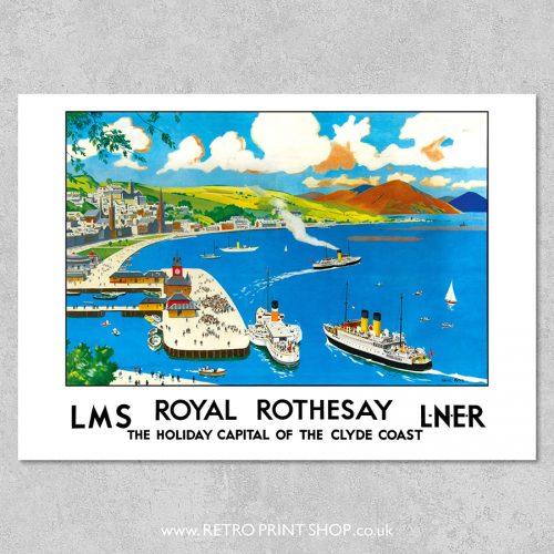 Royal Rothesay Poster