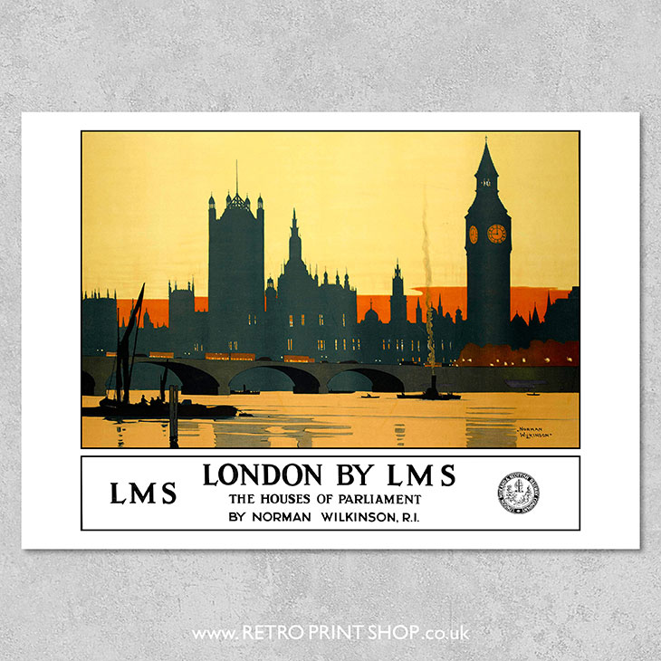 LMS London Houses of Parliament