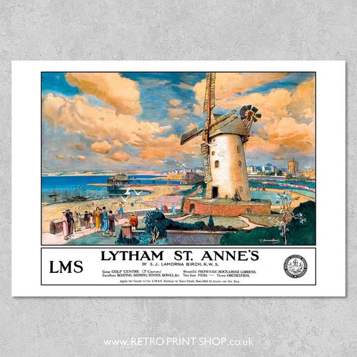 Lytham St Annes poster