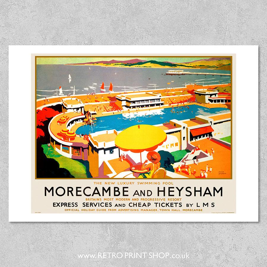 Morecambe & Heysham poster