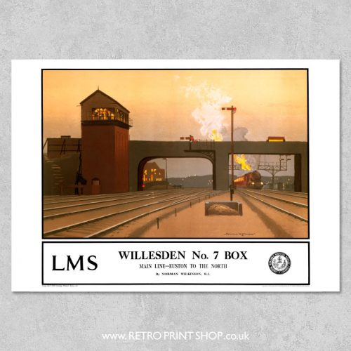 Willesden No7 Box Poster