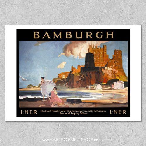 Bamburgh Poster