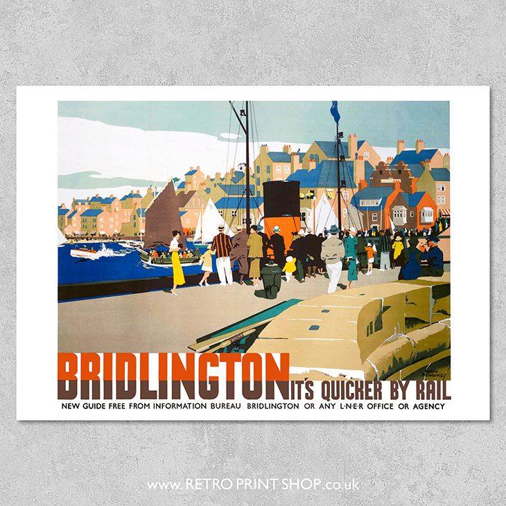 LNER Bridlington Poster