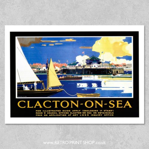 Clacton-on-Sea Poster 2