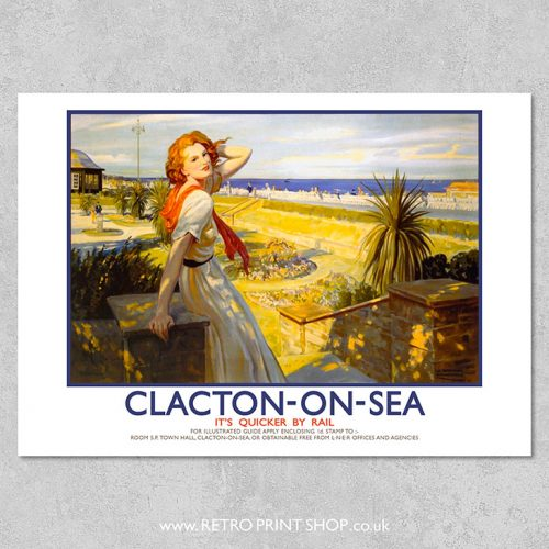 Clacton-on-Sea Poster