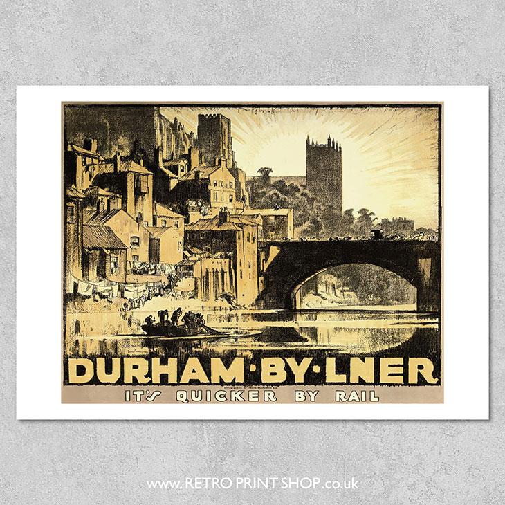 LNER Durham Poster #2