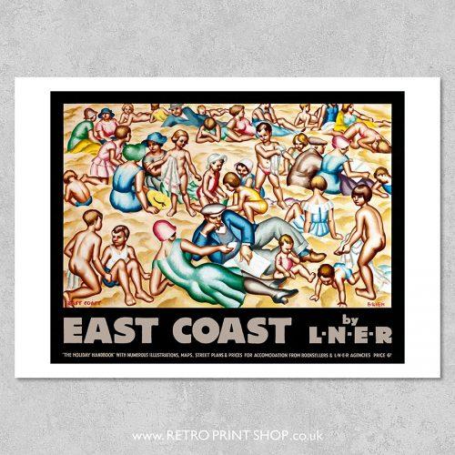 LNER East Coast Poster
