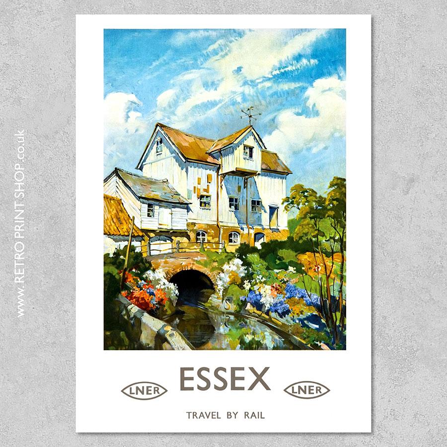 LNER Essex Poster