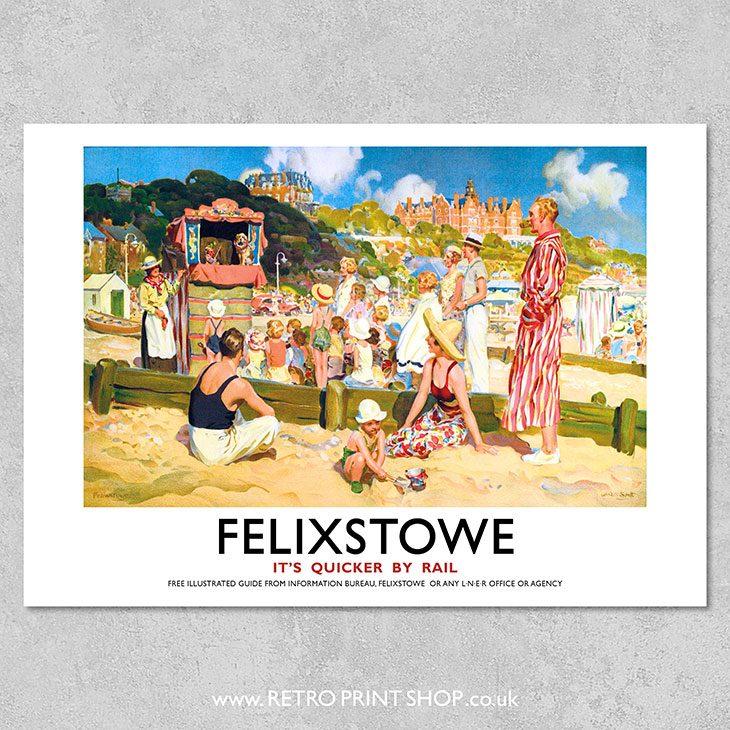 Felixstowe Poster