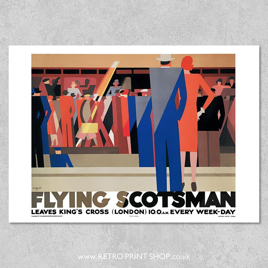 LNER Flying Scotsman Poster