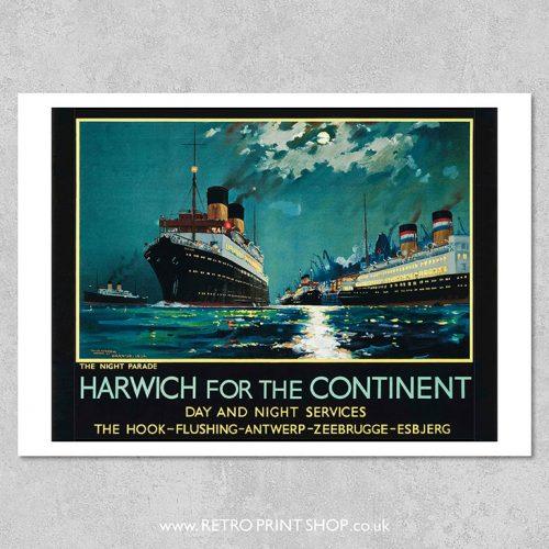 LNER Harwich Poster