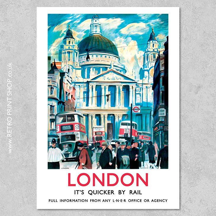 LNER London Poster